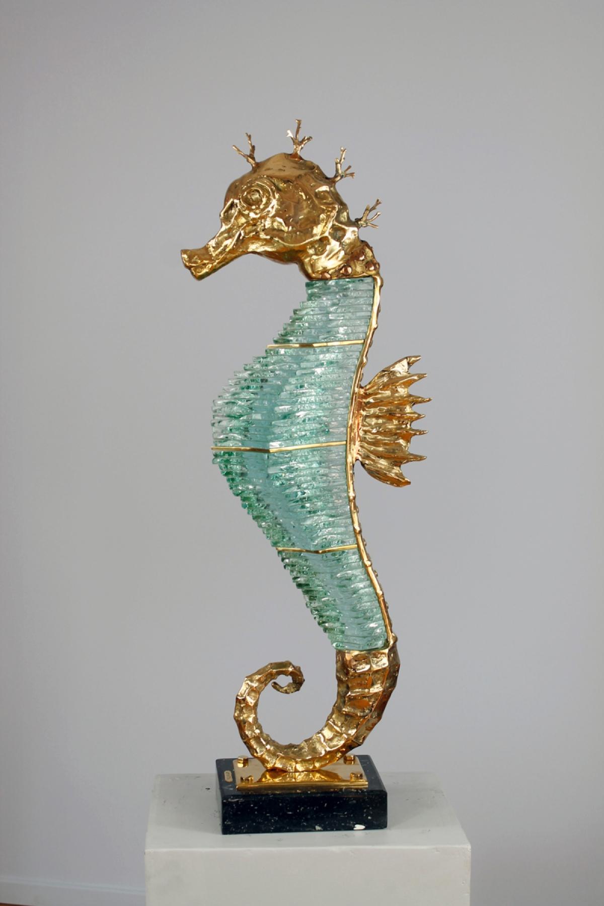 Seahorse (bronze)